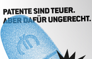 Kampagne für die Aufhebung des Patentschutzes