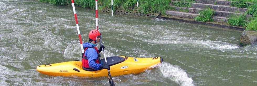 Kanutraining mit den NaturFreunden